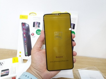 Dán cường lực iPhone 11. - Baseus chống nhìn trộm